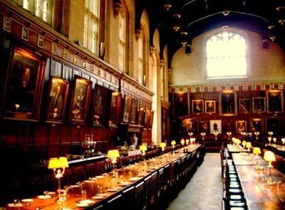 《哈利·特》食堂原型在牛津学