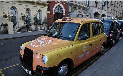 出国留学:英国留学:出行实用贴:小编教你如何在英国伦敦打出租车图片